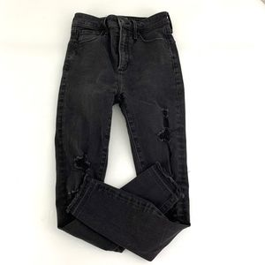 Abercombie & Fitch Simone High Rise Ankle Jeans